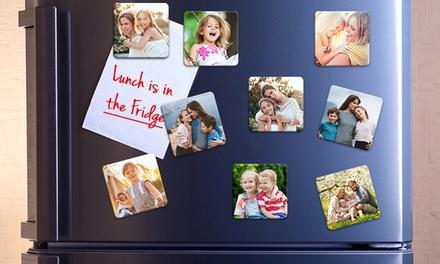 9, 18 ou 27 magnets personnalisés, de 50mm x 50mm ou 70mm x 70mm, dès 3,90 € avec Photo Gifts (jusquà 83% de réduction)