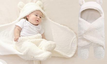 1 ou 2 Nids dange et couverture thermique douce pour bébé