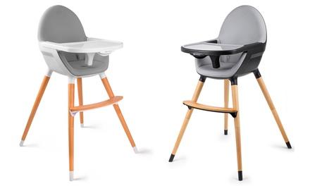 Chaise haute pour bébé 2 en 1 Kinderkraft